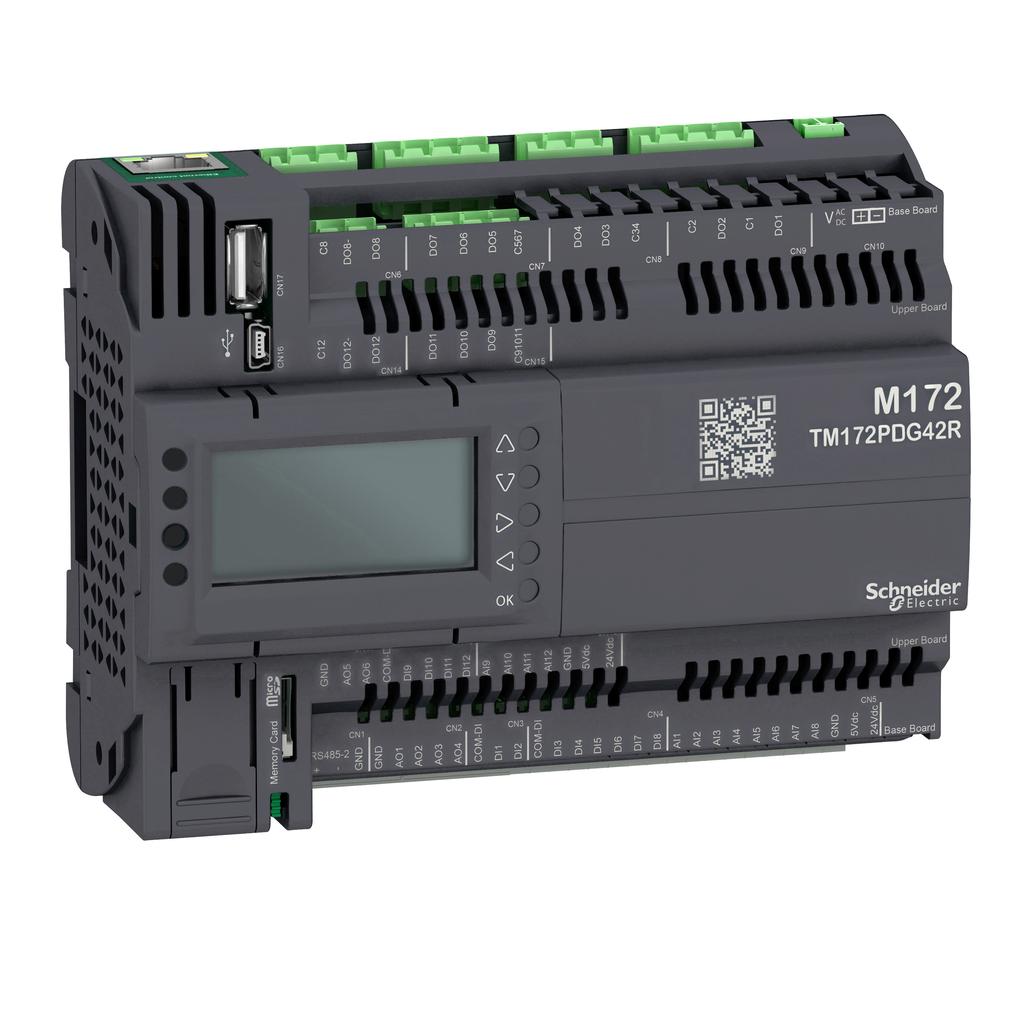 Mayer-Modicon M172 Performance Display 42 I/Os, Ethernet, Modbus-1