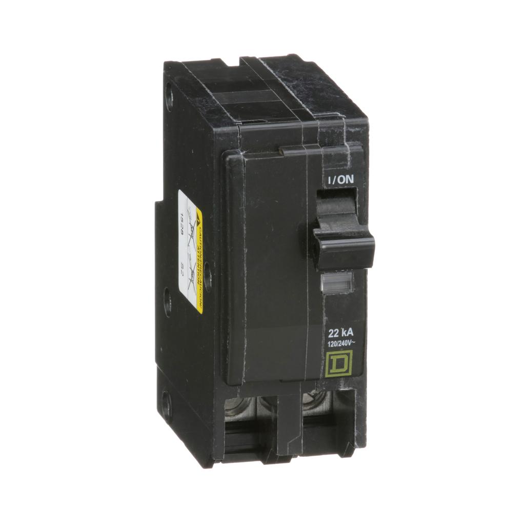 Mayer-Mini circuit breaker, QO, 70A, 2 pole, 120/240 VAC, 22 kA, plug in mount-1