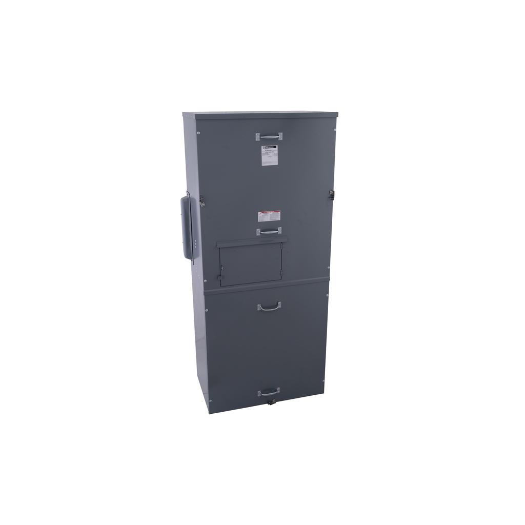 Mayer-EZ Meter Main 1600A, 2P, Type 3R, 1 PH, 100 kA, OH/UG-1