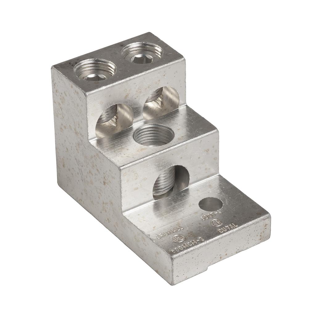 Mayer-IEC Contactor Lug Kit - 1 lug - for LC1F630 contactor - three 2-600 MCM-1