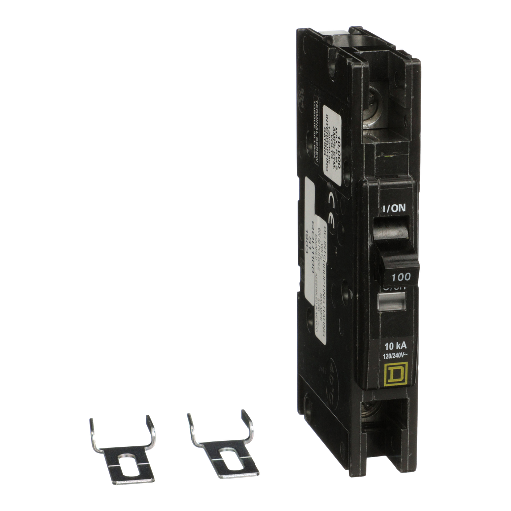 Mayer-Mini circuit breaker, QOU, 100A, 1 pole, 120/240 VAC, 10kA-1