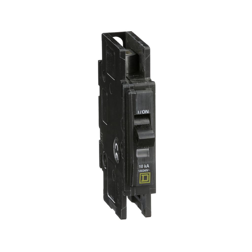 Mayer-Mini circuit breaker, QOU, 30A, 1 pole, 120/240 VAC, 10kA, field reversible lugs-1