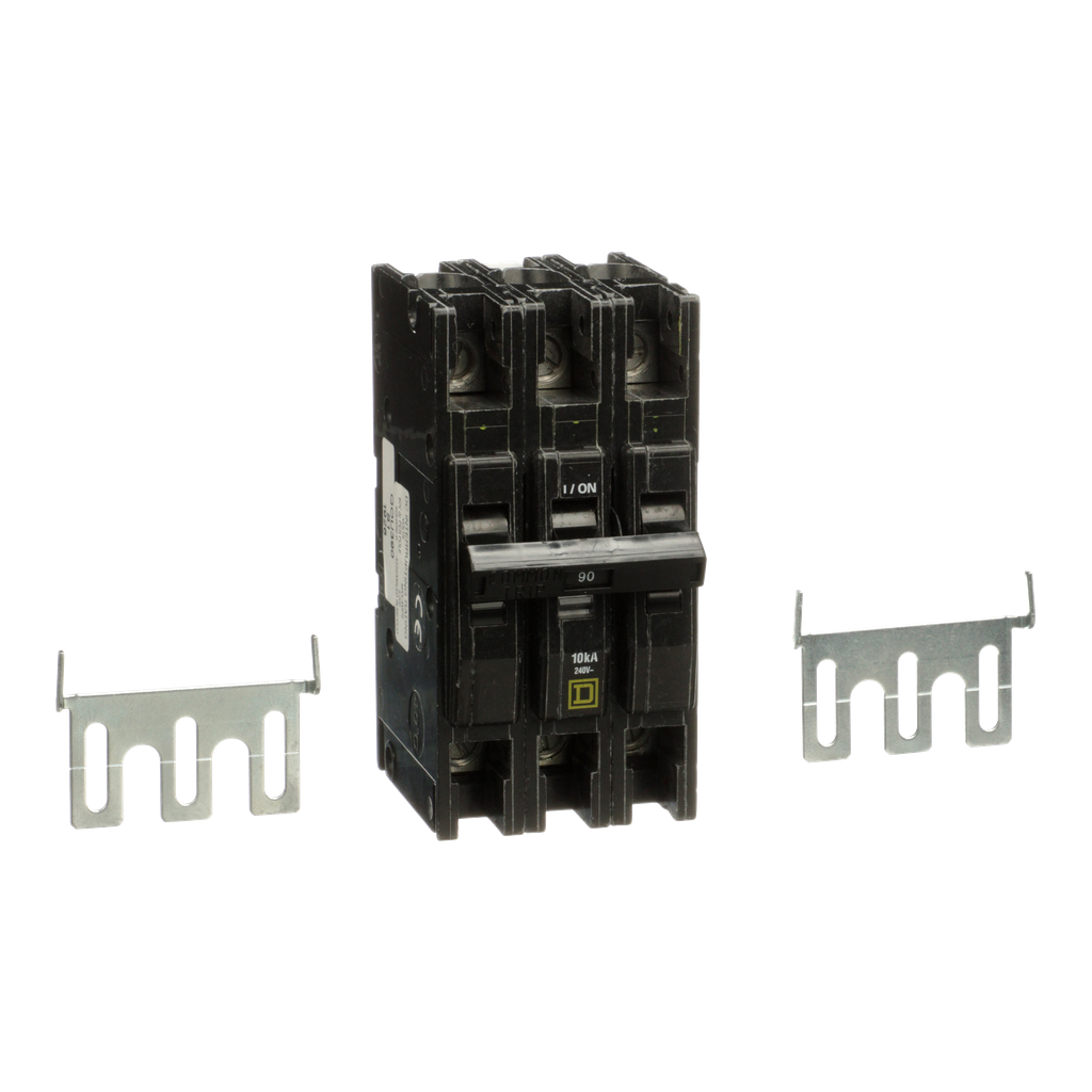 Mayer-Mini circuit breaker, QOU, 90A, 3 pole, 240 VAC, 10kA-1
