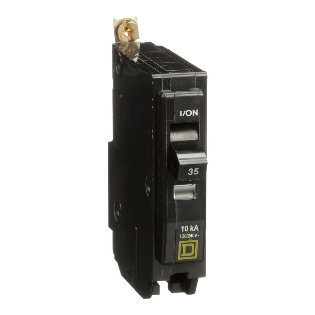 Mayer-Mini circuit breaker, QO, 60A, 1 pole, 120/240 VAC, 22 kA, bolt on mount-1