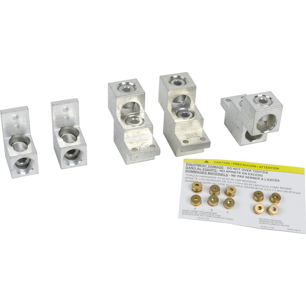 Mayer-NQ Panelboard Acc. Mechanical Lug Kit 600A, Aluminum/Copper-1