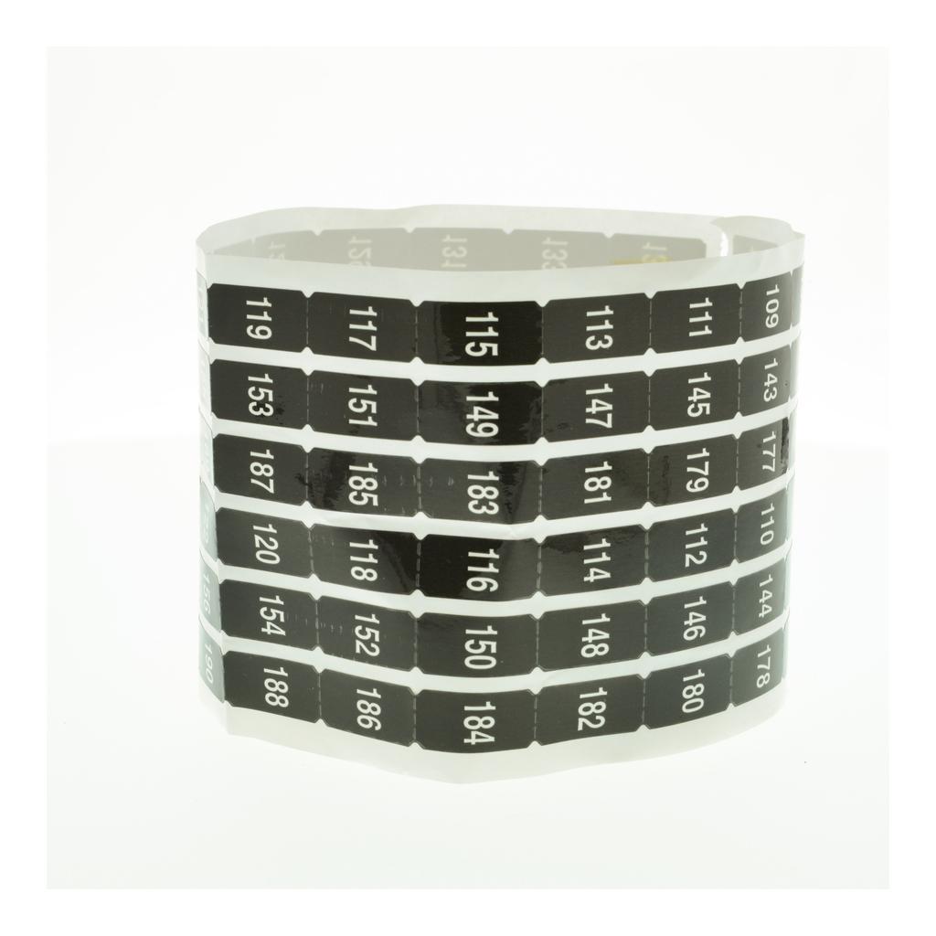 Mayer-NF Panelboard Acc. Number Strip Odd/Even iLine, 103-204-1