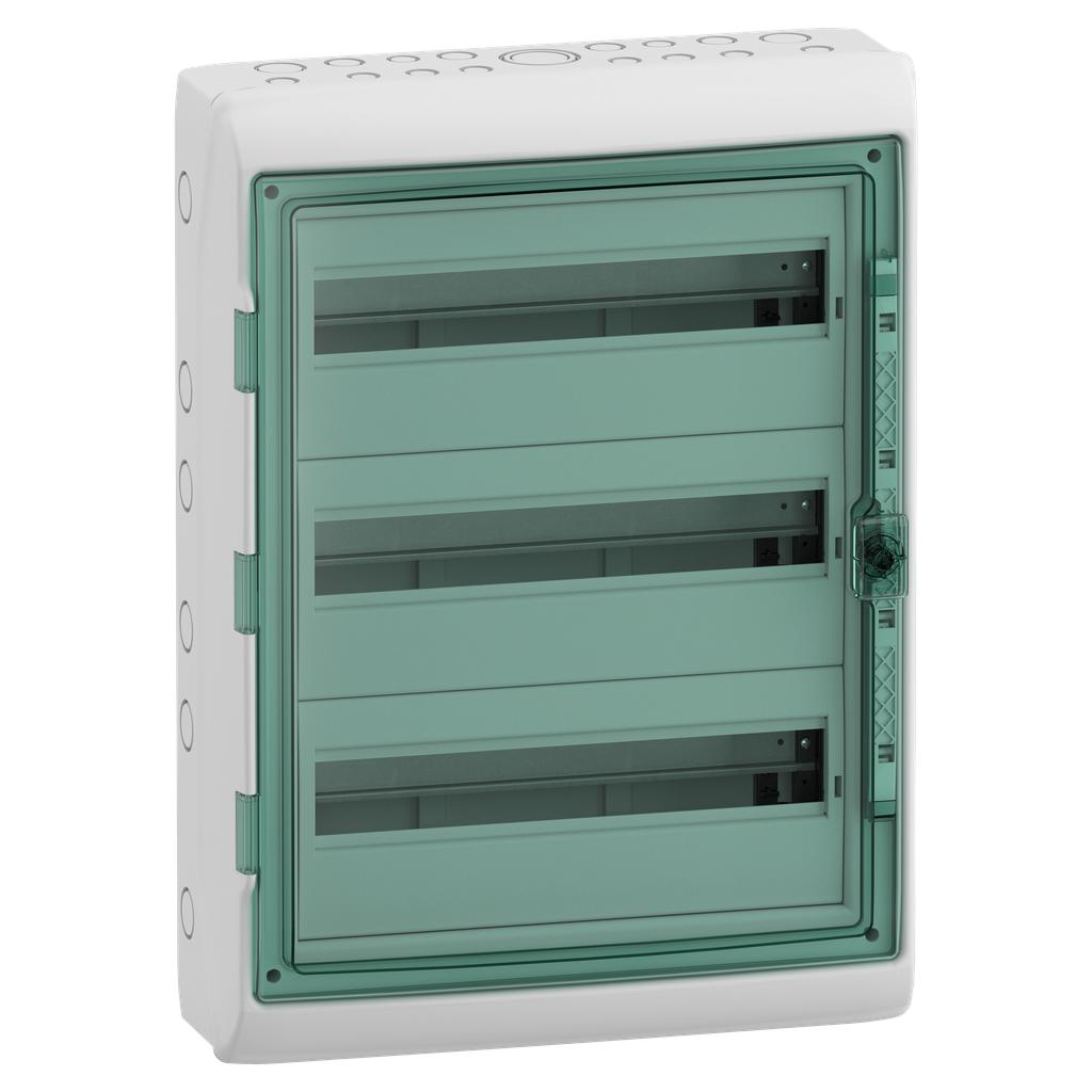Mayer-Kaedra - for modular device - 3 x 18 modules - 2 terminal blocks-1