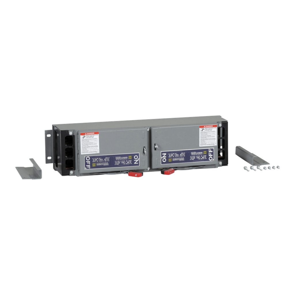 Mayer-Fusible Switch, QMB, 60A to 60A, 600 VAC, 3 pole, 7.5 hp, 6 in-1