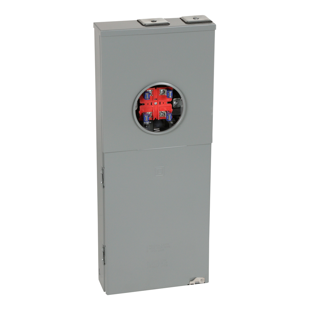 Mayer-Homeline All In One combination service entrance device, ringed socket, no bypass, OH, 200 A, 10 kA, 20 spaces-1