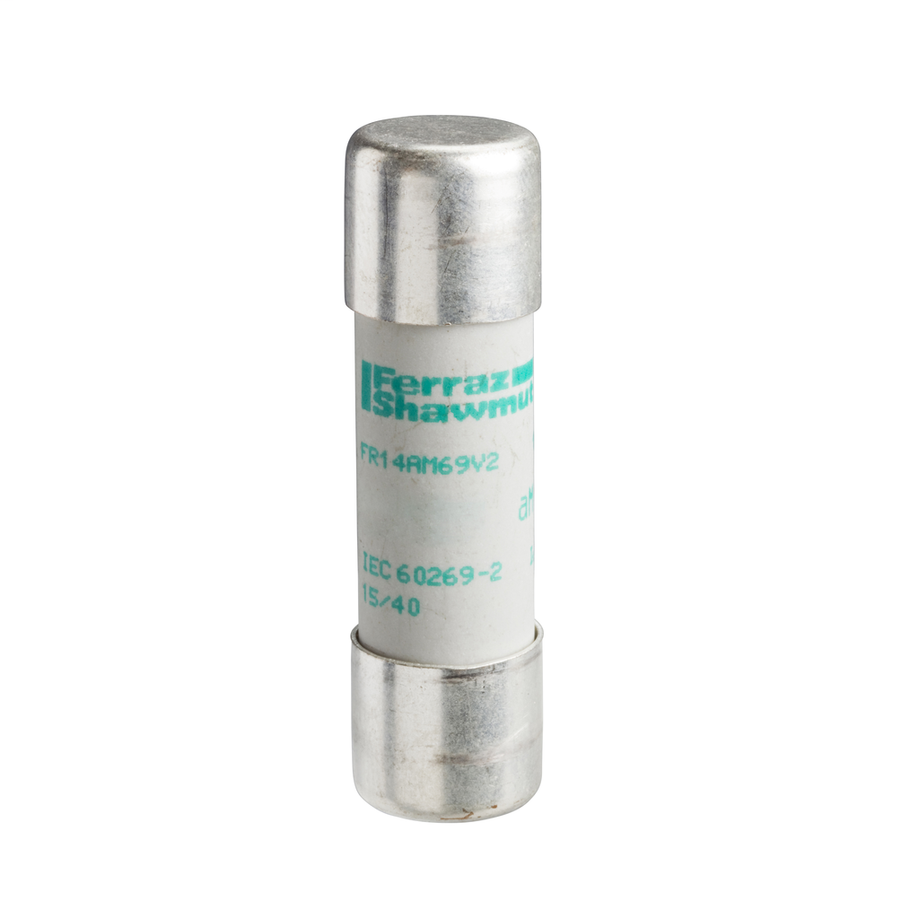 Mayer-NFC cartridge fuses, Tesys GS, cylindrical 14 mm x 51 mm, fuse type aM, 500 VAC, 2 A, without striker-1