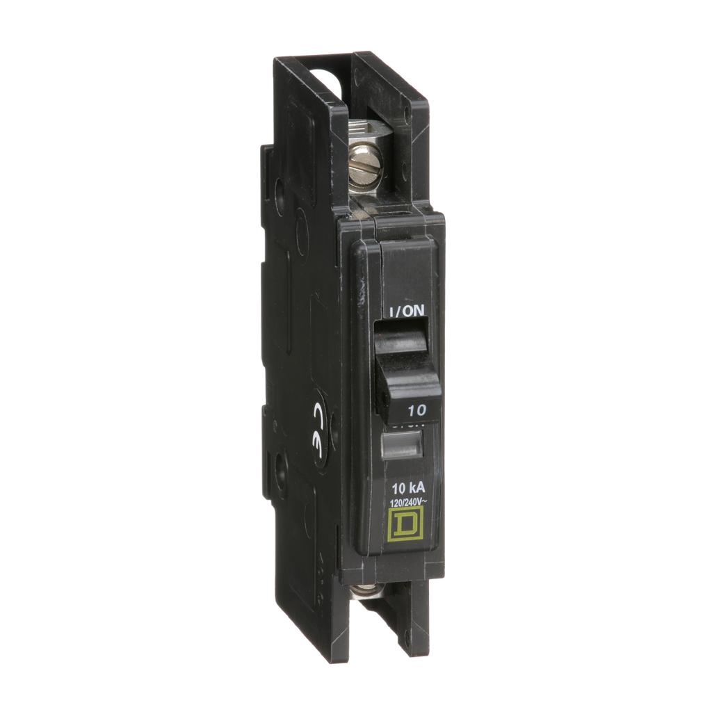 Mayer-Mini circuit breaker, QOU, 10A, 1 pole, 120/240VAC, 10kA-1