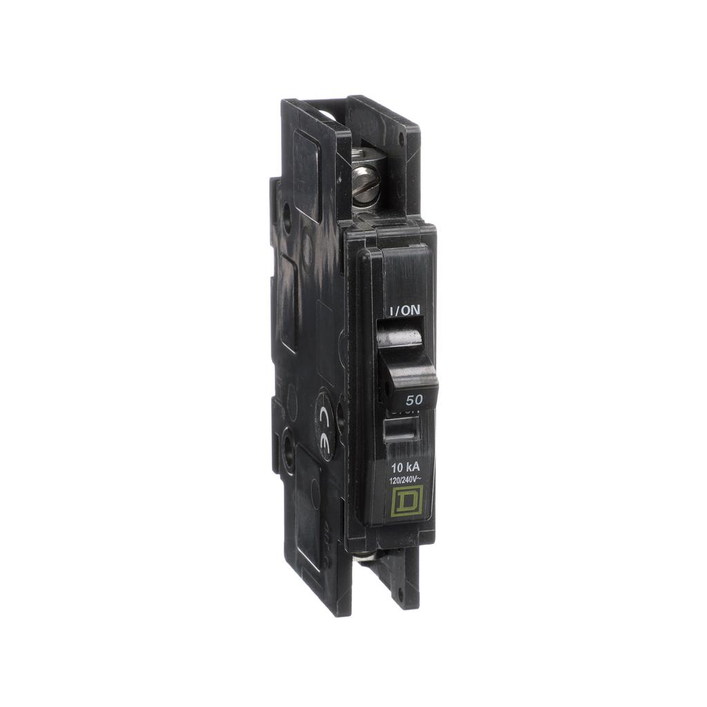 Mayer-Mini circuit breaker, QOU, 50A, 1 pole, 120/240 VAC, 10kA-1