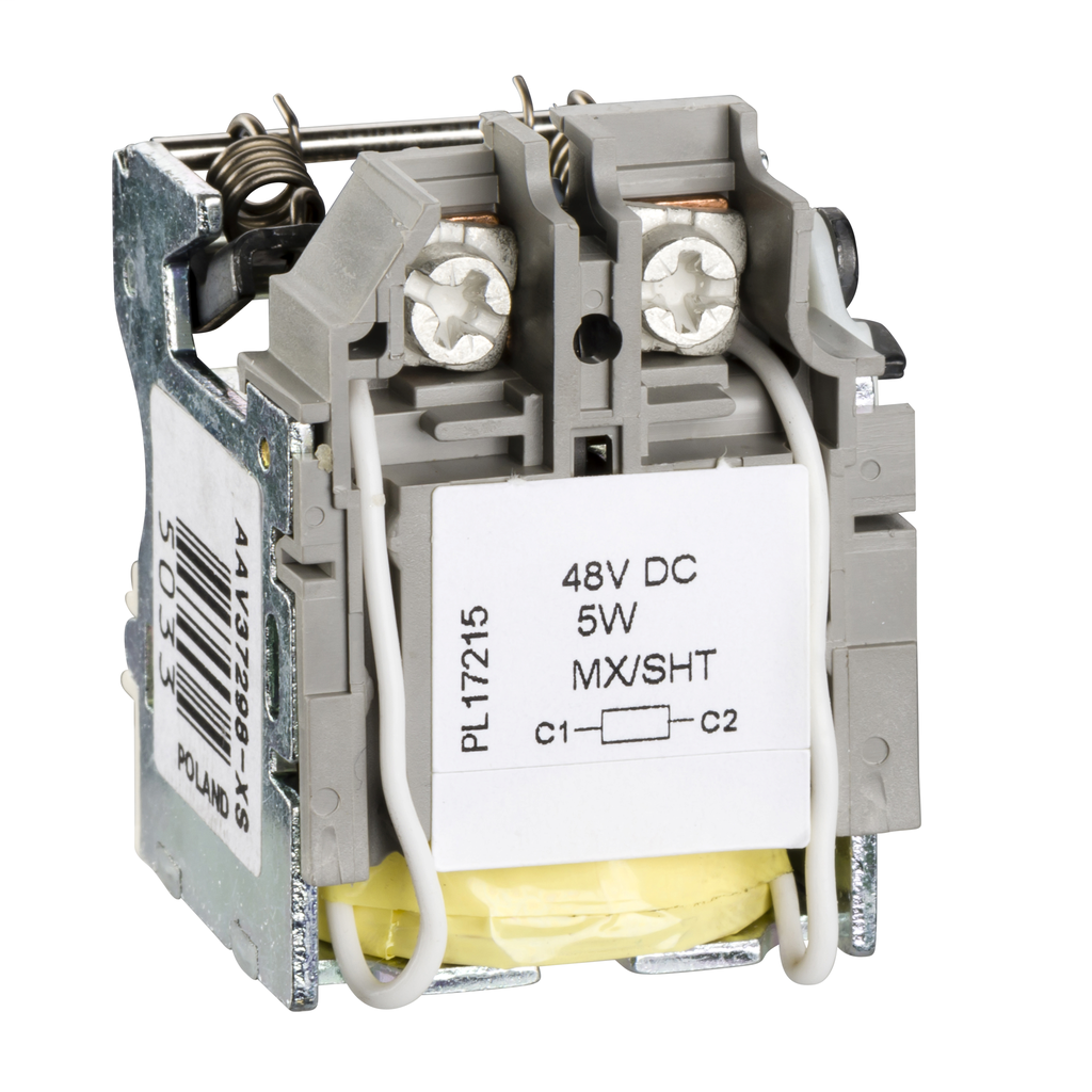 Mayer-MX shunt release, ComPact NSX, rated voltage 48 VDC-1