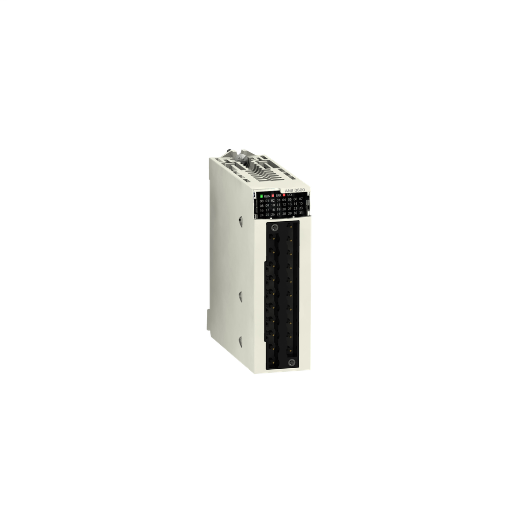 Mayer-non-isolated analog input module X80 - 8 inputs - fast speed-1