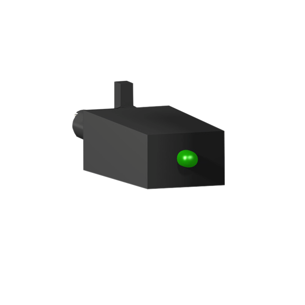 Mayer-Harmony, Protection module, varistor + green LED, for all sockets, 6…24 VAC/DC-1