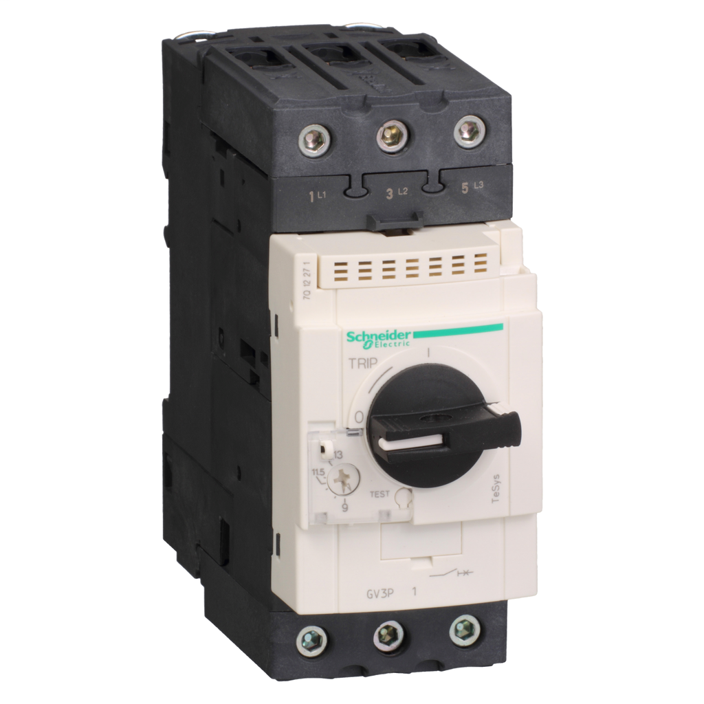 Mayer-Motor circuit breaker, TeSys GV3, 3P, 9-13 A, thermal magnetic, EverLink terminals-1