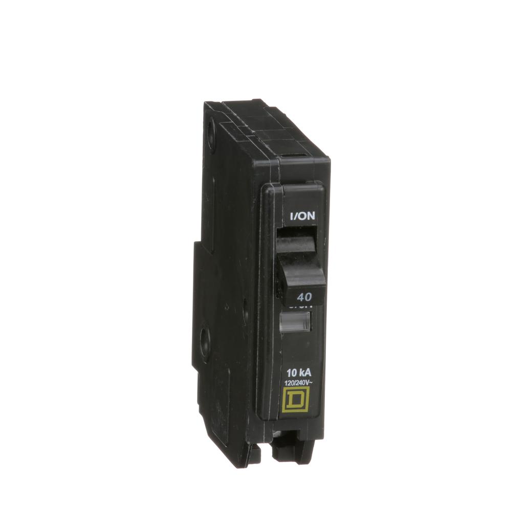 Mayer-Mini circuit breaker, QO, 40A, 1 pole, 120/240 VAC, 10 kA, plug in mount-1