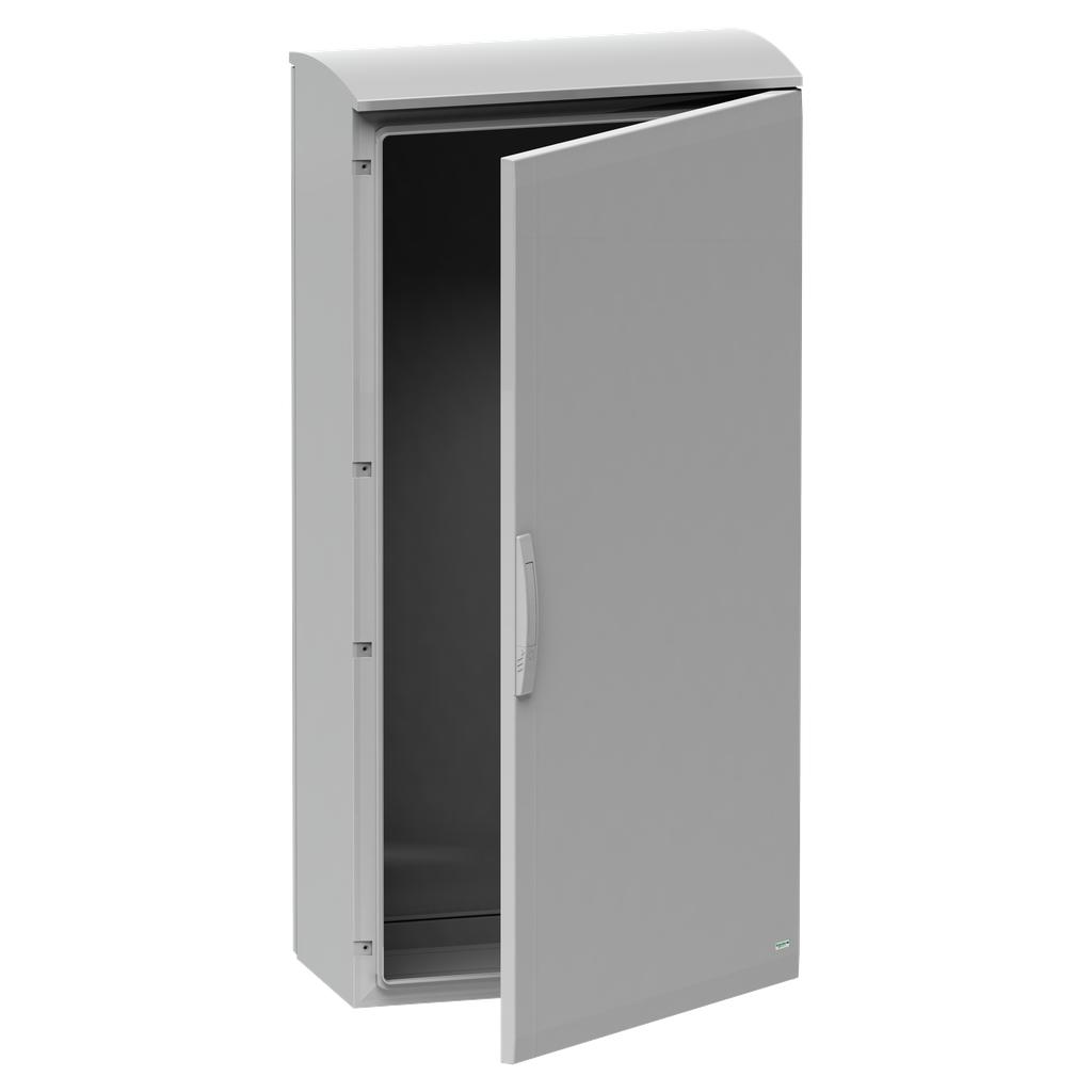Mayer-Floor standing encl. polyester vers.PLAT open top w/ canopy 1250x750x620 IP44-1