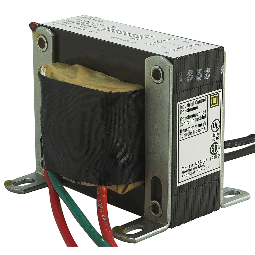 Mayer-INDUSTRIAL CONTROL TRANSFORMER 50VA MULTI-VOLTAGE WITH 610mm/24INCH LEADS-1