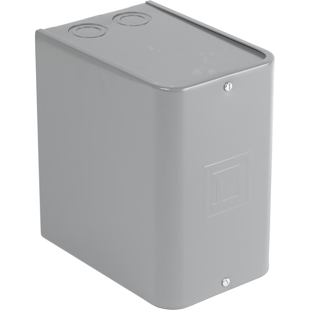 Mayer-NEMA Control Relay, Type X, machine tool, enclosure, for 8601X, NEMA 1, sheet steel, painted grey-1