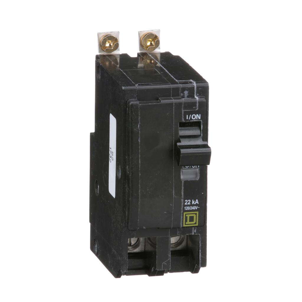 Mayer-Mini circuit breaker, QO, 80A, 2 pole, 120/240 VAC, 22 kA, bolt on mount-1