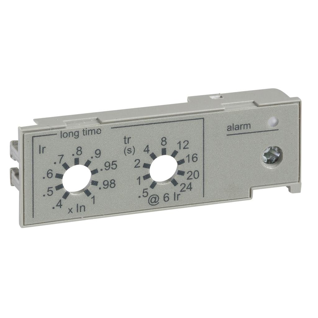 Mayer-IEC long time rating plug, MicroLogic trip units, standard setting Ir (0.4 to 1 x In)-1