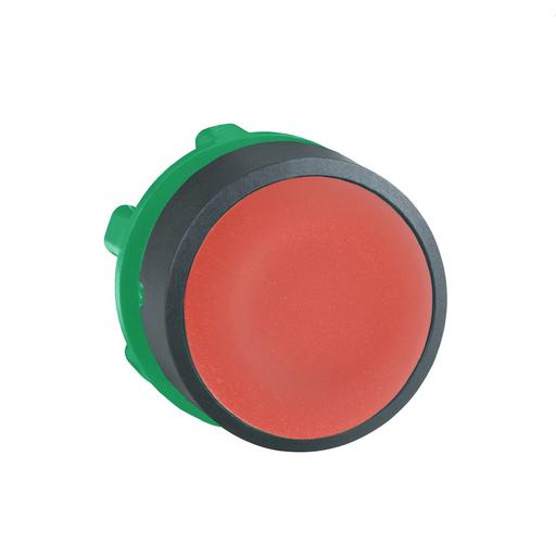 Mayer-Harmony XB5, Push button head, plastic, flush, red, Ø22, spring return, unmarked-1