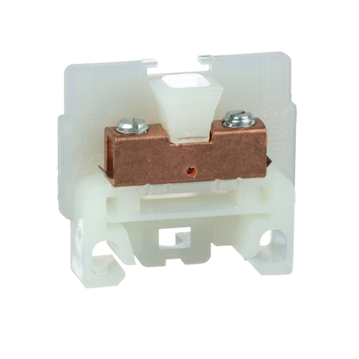 Mayer-Terminal Block, box lug connector, 40 A, 600 VAC/DC, natural colored block-1