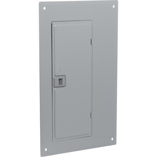 Mayer-Load center cover, QO, 20 circuits, flush, wide gutter, gray-1