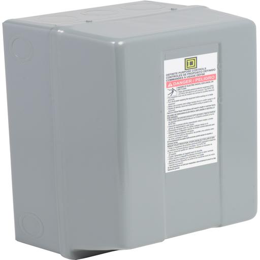 Mayer-Contactor, Definite Purpose, enclosure, for 8910DPA 60A to 75A contactors, NEMA 1-1