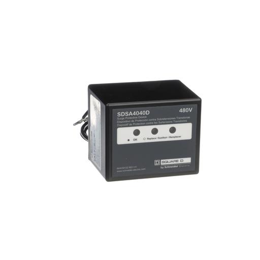 Surge protection device, Surgelogic, 40kA, 480 VAC delta, 3 phase, 3 wire, NEMA 4X