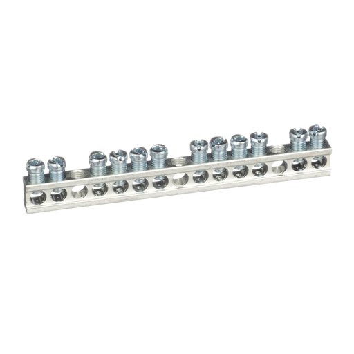 Mayer-Load center accessory, QO/Homeline, ground bar kit, 12 terminals-1