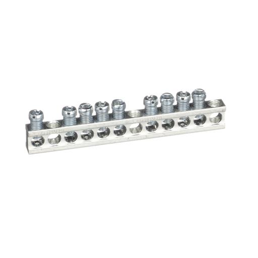 Mayer-Panelboard accessory, NQ, ground bar kit, 12 circuits, 225A max-1