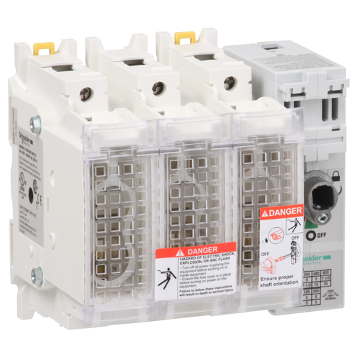 Mayer-TeSys GS - switch-disconnector-fuse - 3 P - UL - 30 A- fuse size J-1