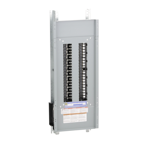 Mayer-Panelboard interior, NQ, main lugs, 225A, Cu bus, 42 pole spaces, 1 phase, 3 wire, 240VAC, 48VDC-1