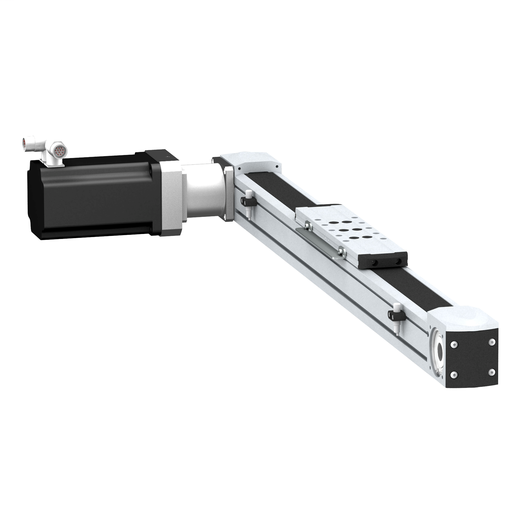 portal axis PAS E - profile size 40x40mm - toothed belt - roller - stroke 300mm