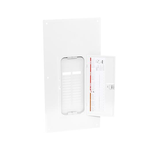 Mayer-Load center cover, QO, 30 circuits, flush, white-1