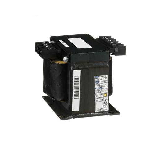 Mayer-Transformer, Type T, industrial control, 500 VA, 208/240/277/380/480 VAC pri / 24 VAC sec, 1 phase, 50/60 Hz, 115°C rise-1