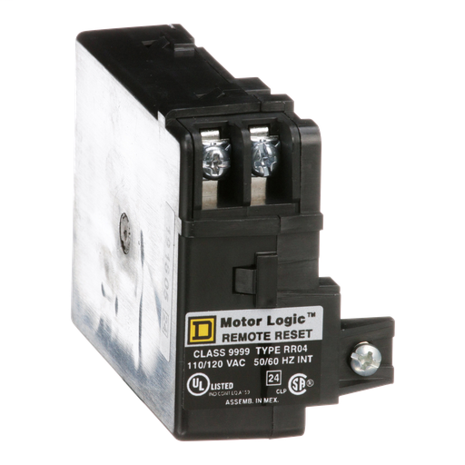 Mayer-Overload Relay, Motor Logic, solid state, remote reset module, 120 VAC-1