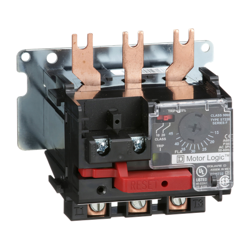 Mayer-Motor Logic solid state overload relay, replacement, NEMA Size 2, 15 to 45 A, 600 VAC-1