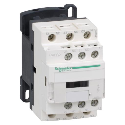 Mayer-TeSys D control relay - 3 NO + 2 NC - <= 690 V - 120 V AC standard coil-1