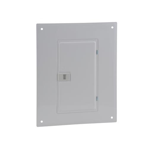 Mayer-Cover, QO, load center, 20 circuits, 100A, flush, white-1