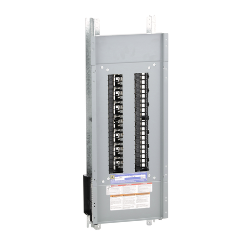 Mayer-Panelboard interior, NQ, main lugs, 225A, Cu bus, 42 pole spaces, 3 phase, 4 wire, 240VAC, 48VDC-1