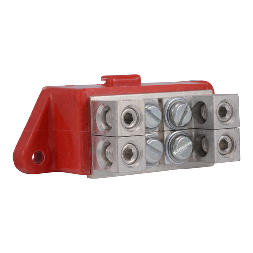 NEMA Motor Starter and contactor, Type S, solid neutral lug kit, 4 lugs, 14 to 2/0 AWG, CU or AL