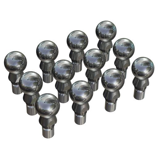 12 ball pins, set for 1 robot