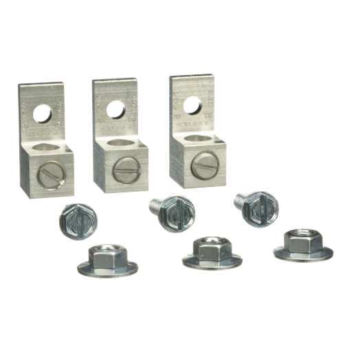 Mechanical Lug Kit - 100A - 1 or 3Ph Delta Pri-1Ph or 3Ph Delta Sec Transformer