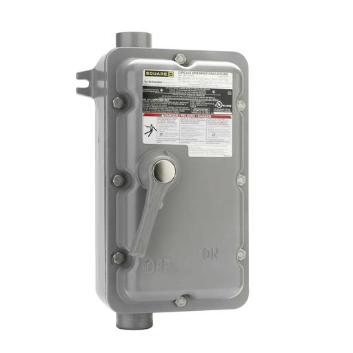 Mayer-PowerPact B-Frame Molded Case Switch Enclosure, 60A, I/O, Nema 7/9-1