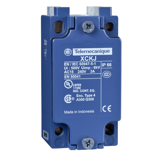 """Mayer-Limit switch body, Limit switches XC Standard, ZCKJ, fixed, w/o display, 1NC+1 NO, snap action, 1/2""""NPT-1"""