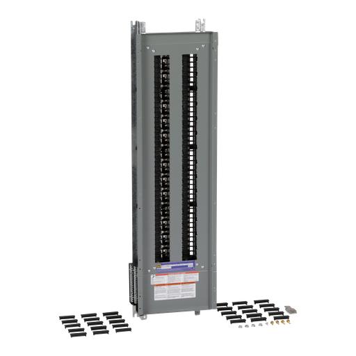 Mayer-Panelboard interior, NQ, main lugs, 225A, Al bus, 84 pole spaces, 3 phase, 4 wire, 240VAC, 48VDC-1
