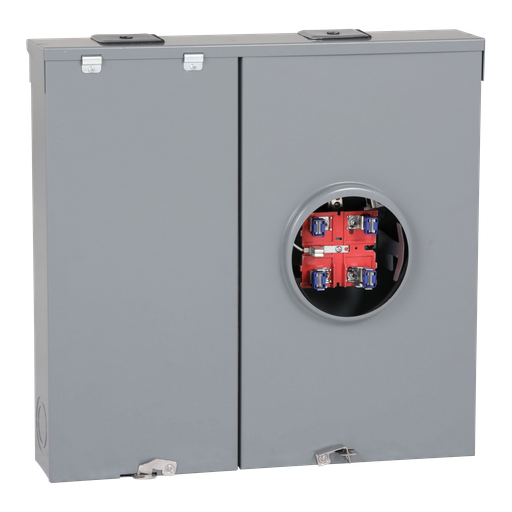 Mayer-Meter mains, QO, combination service entrance, ringless socket, 200A, outdoor surface mount, no bypass-1